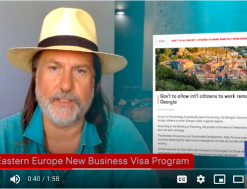 Stay In Eastern European Country Georgia For A Year With New Business Visa