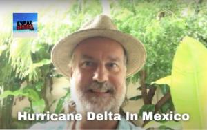 Hurricane Delta In Mexico