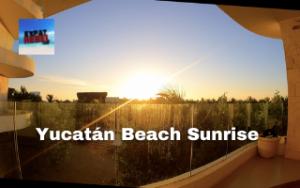 Yucatán Beach Sunrise