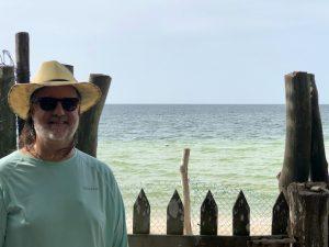 Expat Chris at Yucatán Beach