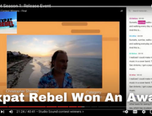 Expat Rebel Won An Award